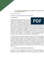 Salvador O. Alfaro - Gramsci Y La Sociología Del Conocimiento