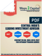 Equity Research Report 07 March 2016 Ways2Capital