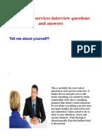 Web Service Interview
