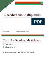 Decoding n Muxtiplexing