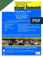 2010 Tech Summit Flyer