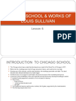 Chicago School- Works of Sullivon