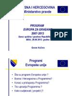 2012 06 26 Prezentacija Program Evropa Za Gradjane Goran Kucera (1)