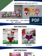 085729878262, Jual Boneka Hello Kitty, Boneka Hello Kitty Besar, Boneka Hello Kitty Wisuda