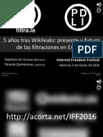 Filtraciones en España