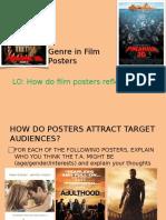 4 - Genre in Posters