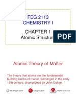 Chapter 1 - Atom Structure