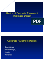 Design Fundamentals of Pavement