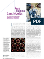 Zéolythes Tamis et pièges à molécules