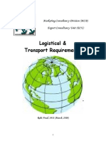 2010 EB Logistical Transport Requirements