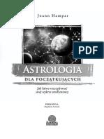 Astrologia dla początkujących - Fragment Nowy