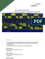 Senior Finance Executives' Views on the Financial Turmoil (September 2008)