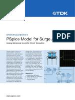 PSpice Model Surge Arresters PB