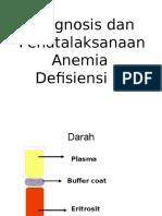 Diagnosis Dan Penatalaksanaan Anemia