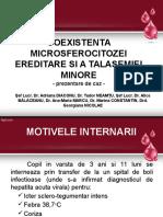 Coexistenta Microsferocitozei Ereditare Si a Talasemiei Minore (2)
