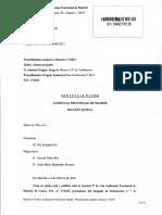 Sentencias AP Sección Quinta Monitor de Ciclismo