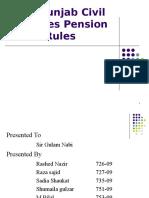 Presentation Punjab Civil Rules