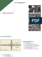 Roundabout Design Parameters