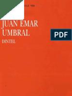 Umbral - Dintel - Juan Emar