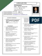 Curriculum Vitae WAOD 2015