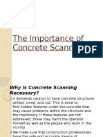 The Importance of Concrete Scanning