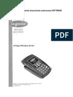 Lecteur de CB (TPE) - Ingenico EFT930G