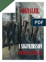 1 SIGFRIDSSON - SIGNALER.