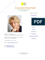 Anne Collins 28 Day Weight Loss Diet for Busy People