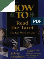Abraham, Sylvia - How to Read the Tarot