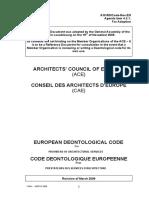 Deontological Code en Copy
