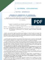 Circulaire justificatifs étudiants UE - 12 octobre 2007