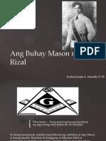 Ang Buhay Mason Ni Rizal