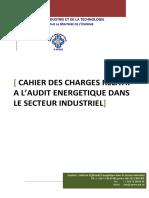 Cahier Charges Audit Energetique Secteur Industriel 2011