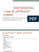 Diagnosis Banding Tumor Jaringan Lunak - Persentasi Referat