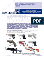 Quick Guide Imitation, Toy & Other Firearm Paraphernalia 2