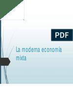 La Moderna Economía Mixta