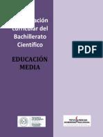 Bachillerato Científico Con Énfasis en Letras y Artes