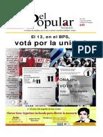 El Popular 338 Órgano de Prensa Oficial del Partido Comunista de Uruguay