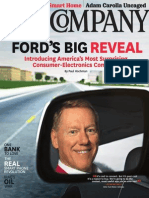 """""""Ford's Big Reveal"""" (Fast Company Article)"""
