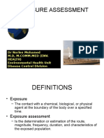 Toxicology - Exposure Assessment