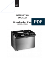 17892 Bread Maker Plus IB