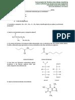 exercicios QuímOrgânica - SUPALIM