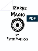 Peter Marucci - Bizarre Magic