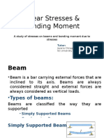 Shear Stresses & Bending Moment.pptx