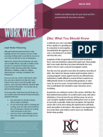 Live Well Work Well Newsletter March 2016