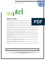54929256 Management Information Systems of PTCL Pakistan