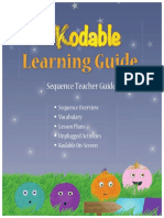 learning guide  sequence