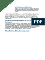 Asset Management Company Analysis