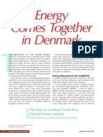 Energy Comes Together in Denmark- The Key to a Future Fossil-Free Danish Power System