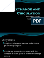 Gas Exchange and Circulation